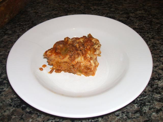 Como fazer lasanha - Passo 8 - Comer!