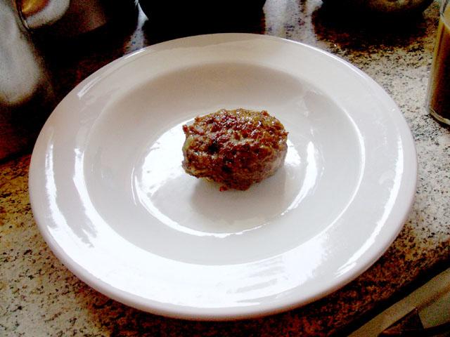 Bolinho de carne - Almôndega