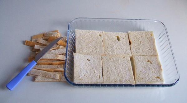 Torta de pão com frango - 7º passo