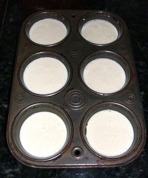 Pão de queijo de liquidificador - 2º passo