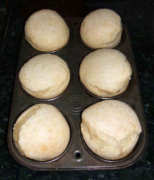 Pão de queijo de liquidificador - 3º passo