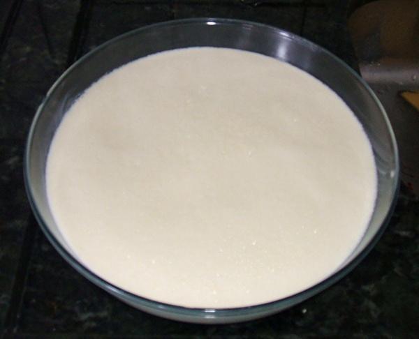 Pudim de pão - 2º passo
