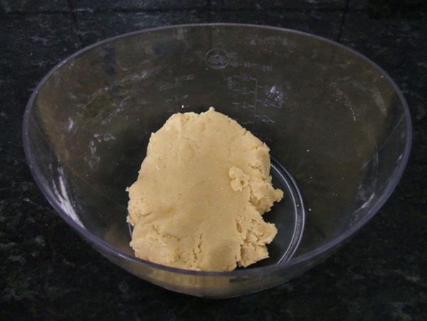 Torta cremosa de banana - 1º passo