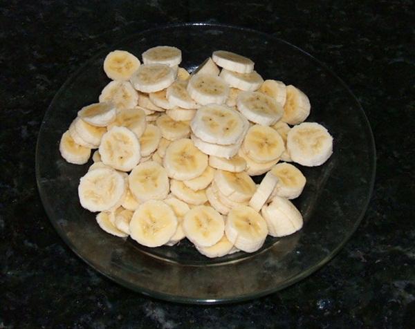 Torta cremosa de banana - 4º passo