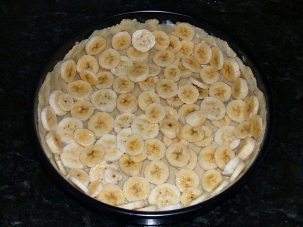 Torta cremosa de banana - 6º passo