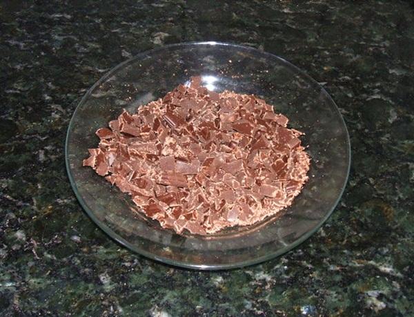 Pão com recheio de chocolate - 4º passo