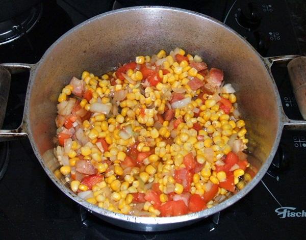 Torta salgada de legumes - 6º passo