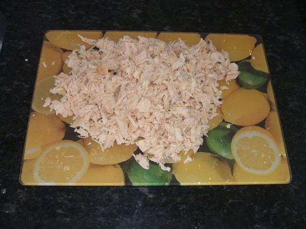 Lasanha de frango - 4° passo