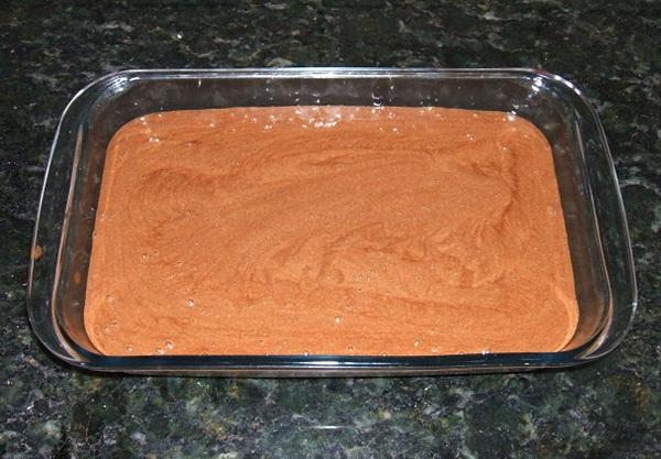 Mousse de chocolate - 6° passo