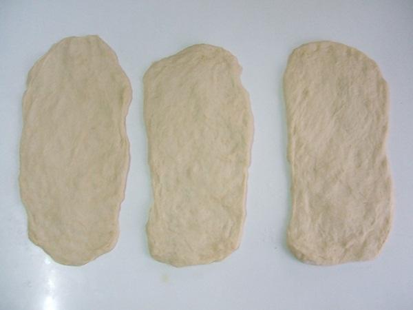 Trança de calabresa com mussarela - 7° passo