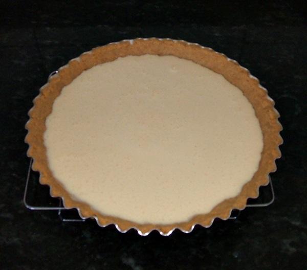 Cheesecake com goiabada - 7° passo