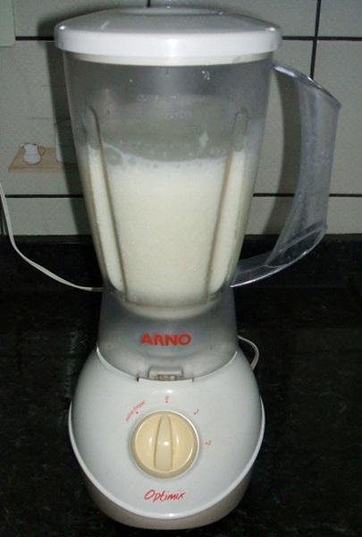Limonada suíça - 2° passo