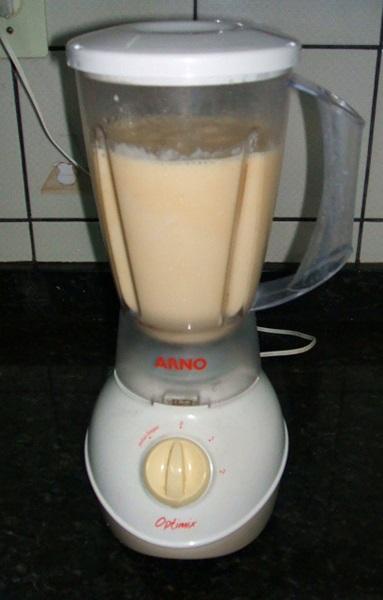 Sobremesa de abacaxi - 6° passo